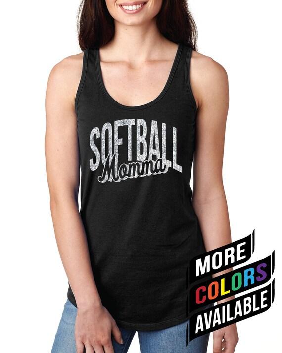 70e5523805b09 Softball Mom Tank Black Softball Tank Softball Tank