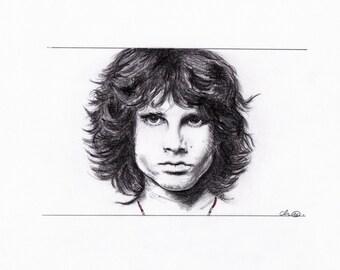 Portrait Of Jim Morrison