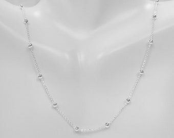 Black Rhodium Sterling Silver Finished Necklace Chain 10mm CH142 Available in 16 20 24 48
