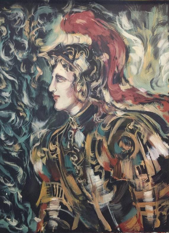 Medieval King Arthur Painting