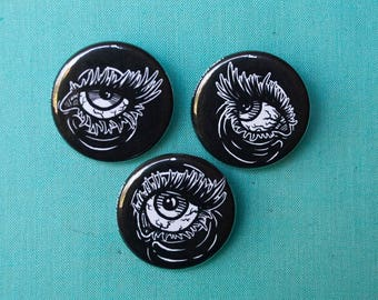 """Small Eyes 1.25"""" Button Pack"""