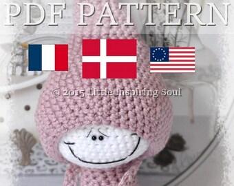 LUCKYDOLL  amigurumi - PDF digital crochet pattern