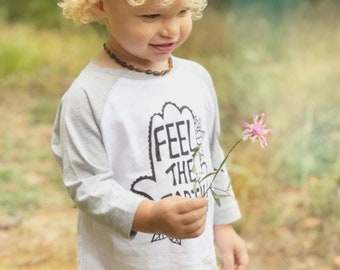 Earth child, Feel the Earth, Yoga kids clothes, Earth day, Hippie child, Toddler shirt, Unisex kids clothes, Hamsa shirt, Kids birthday tee