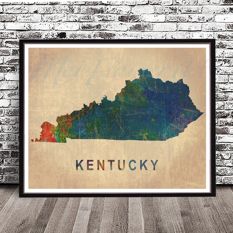 Vintage Kentucky state map PRINT, watercolor painting poster, decor on kansas highway map printable, kentucky vs wichita state, western oregon map printable, kentucky state outline black, kentucky state flag, kentucky map clipart, kentucky state outline printables, kentucky state monogram, pittsburgh map printable, kentucky map outline, purdue map printable, kentucky state necklace heart, kentucky election map, kentucky state tree, texas state coloring pages printable, kentucky voting map, kentucky state symbols, kentucky state flower, kentucky state motto, cincinnati map printable,