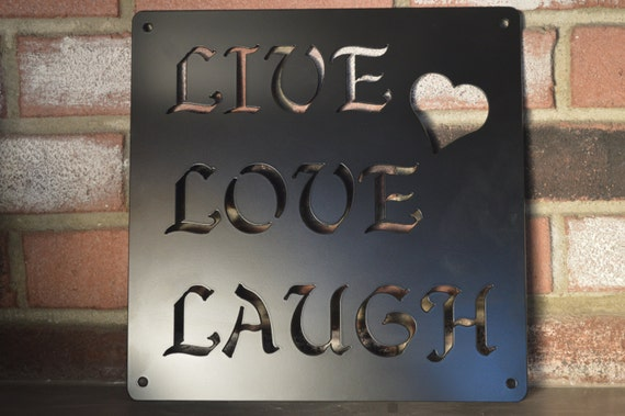 Live, Love, Laugh Wall Art
