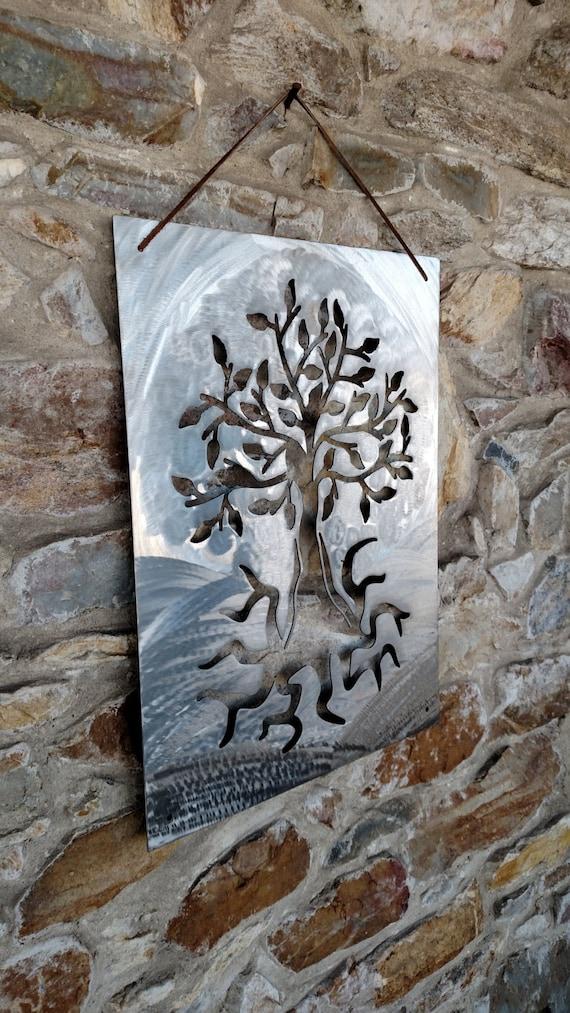 Tree of Life, Wall Art, Metal Art, Plasma Cut Metal