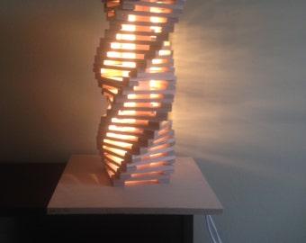 Double Helix Lamp