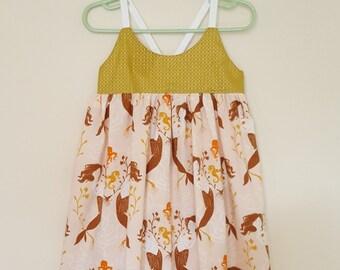 3T Hummingbird Dress