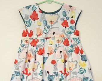4T Geranium Dress