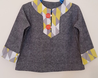 18-24 months Charlie Tunic
