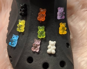 Gummy bear Croc charms alternate colors
