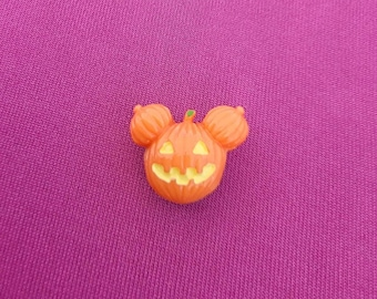 Halloween croc charms, Jack Skellington face, Mickey pumpkin head, monster high and googly eyes