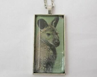 Kangaroo Pendant Necklace