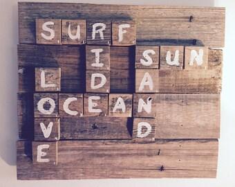 Surf Scrabble
