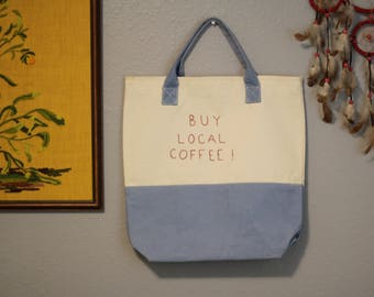 Buy Local Coffee Market Bag