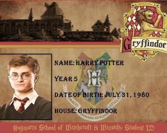 Hogwarts Student IDs