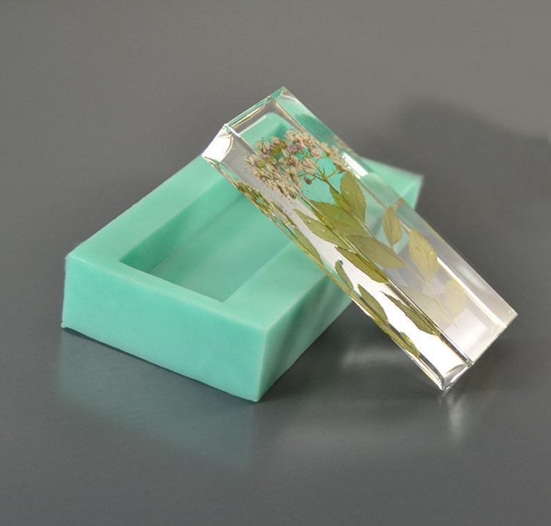 For making jewelry 7 sizes Regtangular item silicone mold Several possible sizes polymer clay interior design etc.- For epoxy resin