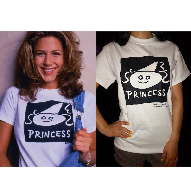 Rachel Green Princess shirt friends shirt friends tv show image 0