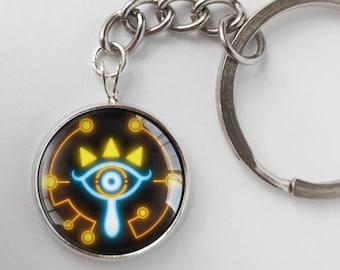 Zelda BOTW Sheikah Slate Eye Symbol Breath of the Wild Key Chains