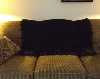Accent Throw - basic black