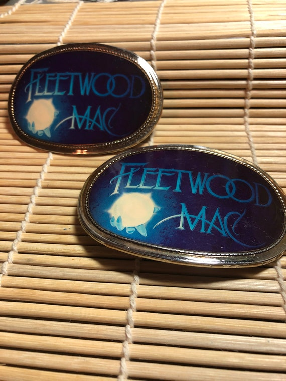 1977 Pacifica Fleetwood Mac Belt Buckle