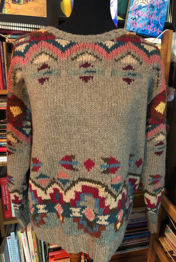 80's/90's Ralph Lauren Country Graphic Sweater