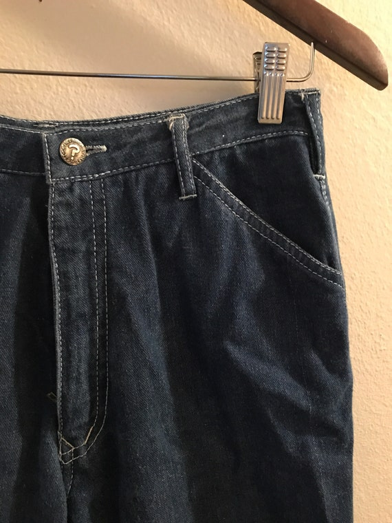 1980's High Waisted N'est Ce Pas? Jeans with Pock… - image 5
