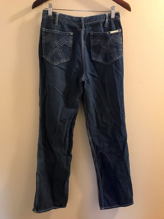 1980's High Waisted N'est Ce Pas? Jeans with Pock… - image 3