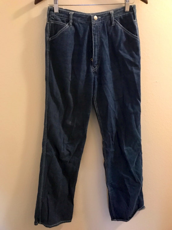 1980's High Waisted N'est Ce Pas? Jeans with Pock… - image 4