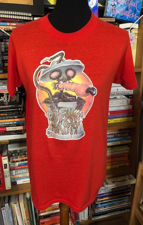 70's Trash Can Rat T-Shirt