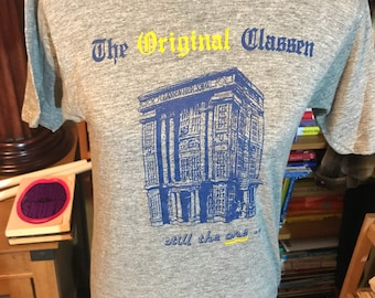 Vintage Oklahoma City Classen High School Screenprinted  T-Shirt (1 of 2, Medium)