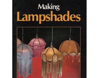 80s Making Lampshades by Jim Crowhurst, Soft Cover Book, Colour Pictures, Illustrations & Diagrams, Detailed Instructions, 36 pages