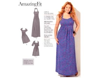 12 semplicità 1800 incredibile Fit vestito con scollatura aperta d28908f77ba