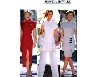 e5982164b47 Butterick 3435 Jessica Howard Cheongsam Dress