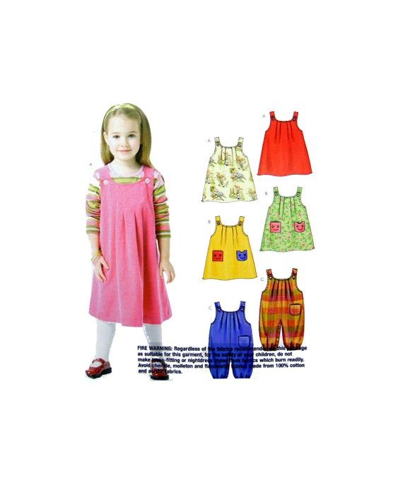 04 Stitch n sparen 4557 Kleinkinder Jumper und Overall | Etsy