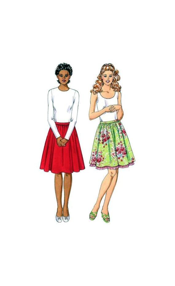 06 Kwik Nähen 3413 gesammelt Röcke mit Seite Reißverschluss   Etsy