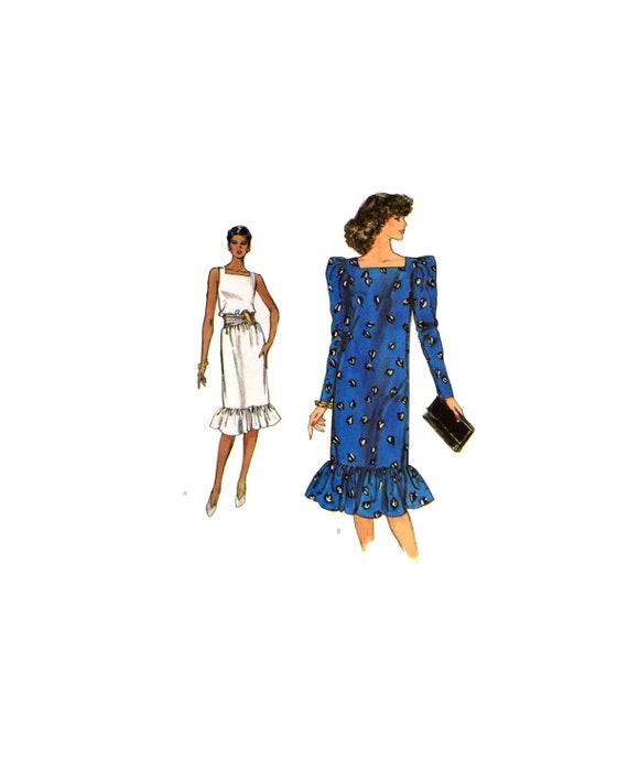 Loose Fitting Straight Dress