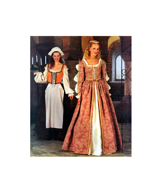 McCall\'s Costumes 2793 Elizabethan Dresses Costumes with | Etsy