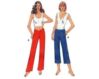 Kwik Sew 3443 Women's Activewear: Yoga Pants in Two Lengths, Uncut, Factory Folded Sewing Pattern Multi Size XS-XL