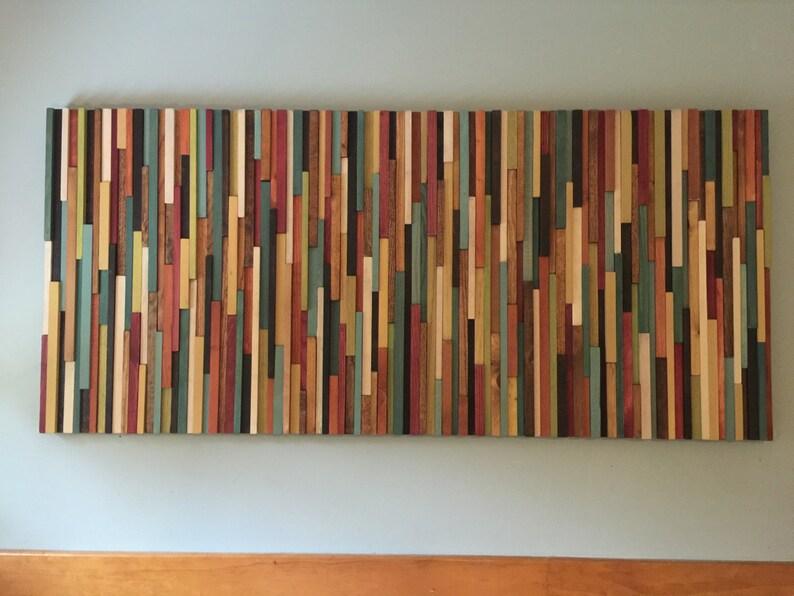 Modern Wood Wall Art Warm Colors Wall Art Wood Wall Art Huge Wall Art Wood Wall Art Wood Wall Decor