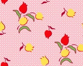 SugarSack 2 by Whistler Studios Quilt Fabric Vintage Carnation Tulips From Windham