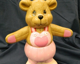 Ceramic Bloomer Bear Valentine