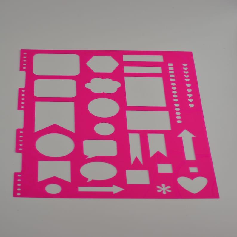 Planner Stencil Perfect for Erin Condren Planner
