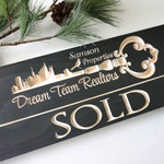 Sold Sign | Realtor Sign | Photo Prop | Real Estate Agent | Buying and Selling | Personalized Realtor Sign | Custom Sold Sign | Closing Sign