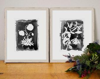 Set of 2 Prints - SMc. Originals - watercolor print, affordable, art, home decor, art print, watercolor painting, framed art, custom art,art