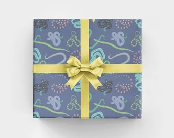 Jungle Snakes Wrapping Paper Sheets WS1168