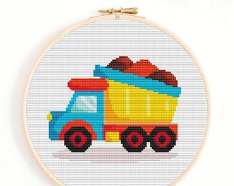 FARM IMPLIMENT cross stitch chart PDF file