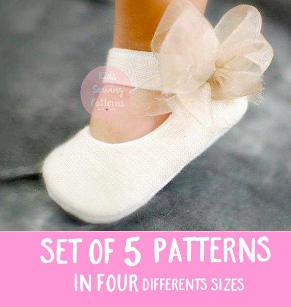 Babyschuh Schnittmuster Mädchen Schuhe Baby | Etsy
