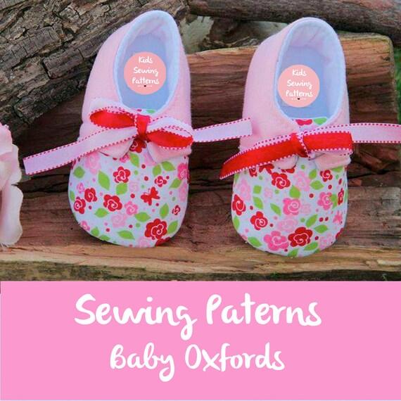 Baby shoe pattern / pdf sewing patterns for children / Newborn