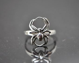 Grössen L23 Saphir Ring Tropfen Schliff 925 Silber Silber Papillon Design  div